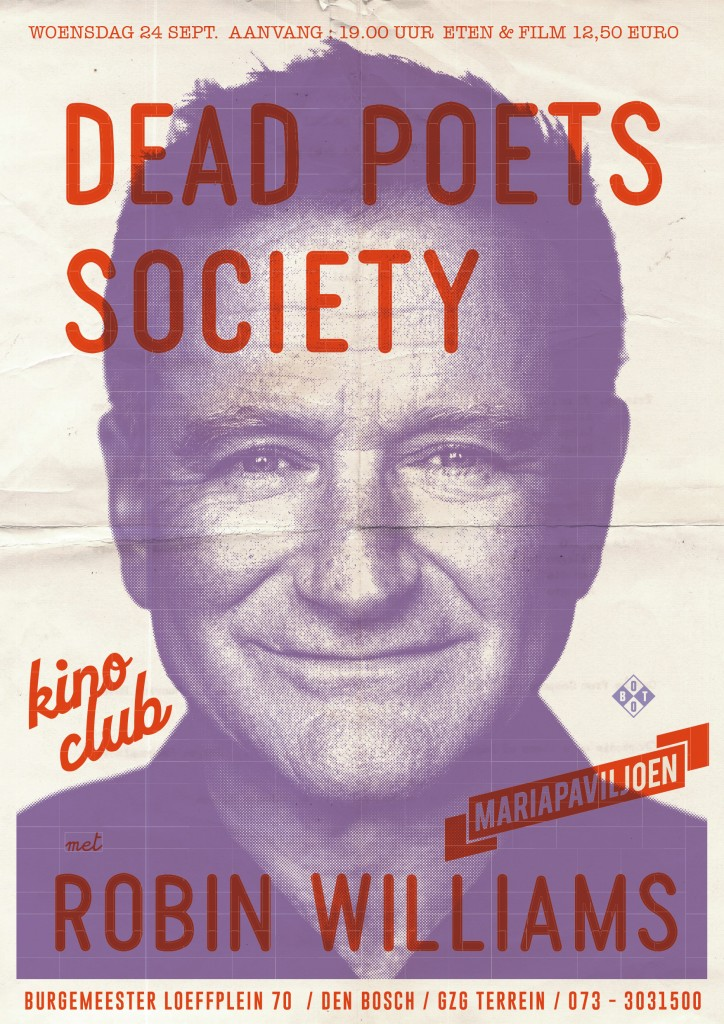 DEAD POETS SOCIETY poster A2 def.indd